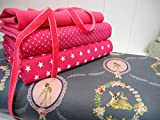 Qjutie Lottashaus No24 Jersey Stoffpaket Bündchen 4 Stück