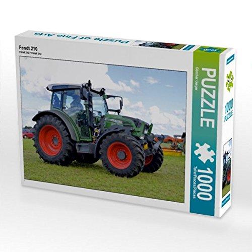 Fendt 210 1000 Teile Puzzle quer