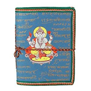 Carnet De Note Bleu Ganesh