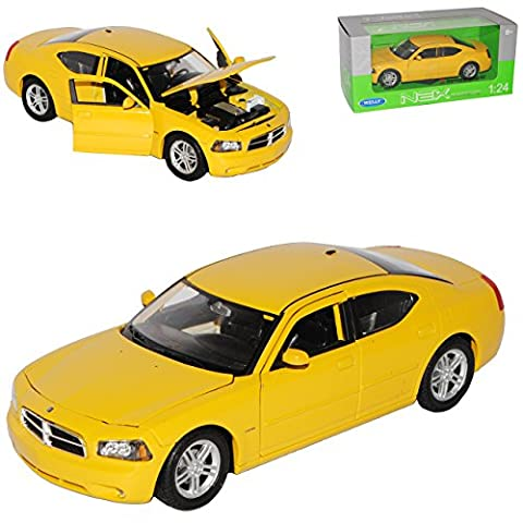 Dodge Charger R/T LX Limousine Gelb Ab 2005 1/24 Welly