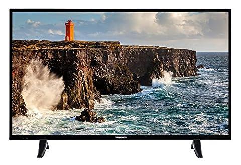 Telefunken XF39D101 99 cm (39 Zoll) Fernseher (Full HD, Triple Tuner) (Full Hd Fernseher Günstig)