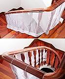 Balkon Netz Balkonnetz Treppenschutz Treppen-netz 78 cm x 300 cm von Design61