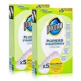 Pronto Plumero StaubXpress Nachfüllpack ohne Griff - 5 Faserköpfe (2er Pack)