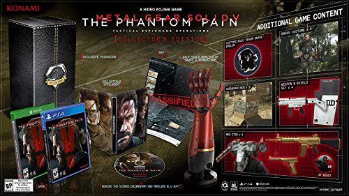 Metal Gear Solid V : The Phantom Pain - édition collector PS4