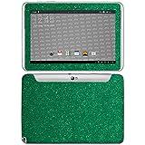 atFolix Samsung Galaxy Note 10.1 (2012 Edition) Skin FX-Glitter-Green-Mile Designfolie Sticker
