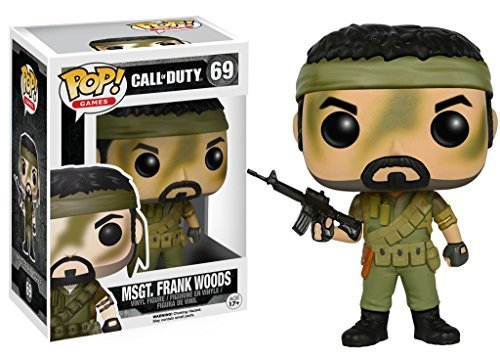 Call of Duty Master Sergeant Frank Woods Funko Pop! Vinyl Figure by Funko