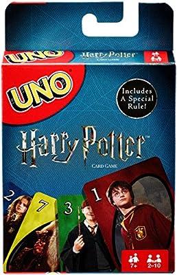 Uno Harry Potter jeu de cartes Uno en Anglais
