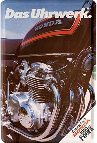 Honda 550 Four K Motorrad Kult Bike Retro 20x30 cm Blechschild 225 (Honda Motorrad Blechschild)