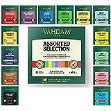 VAHDAM, Migliori assortimenti di tè | 15 diverse bustine di tè assortimenti di campionari confezione regalo Variety Pack | Me