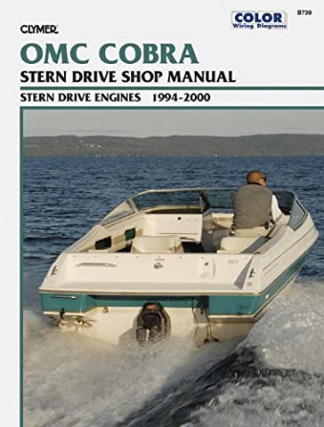 Clymer OMC Cobra Stern Drive Shop Manual 1994-2000