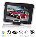 NAVPAL 7 Inch Sat Nav GPS Navigation 16GB+WiFi for Car Truck Motorhome + 2019 World Maps [Pre-Installed] + Free Lifetime Updates