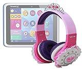 DURAGADGET Cuffie Rosa Principessa Per Clementoni 13337/XL 8' (13664)/13335 - Il Mio Primo Clempad 5.0 Plu - Clempad 5.0 XL - Ideale Per L'utilizzo Con I Tablet! - Alta Qualità