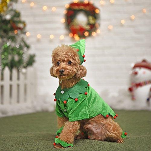 ung Pet Kostüm Weihnachten Baum Design Weiche Hat Cosplay Kleidung w ~ W (Das Kostüm Design Prozess)