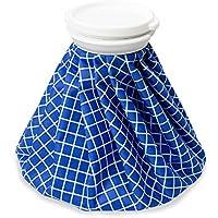 FYTTO Eisbeutel & Wärmflasche für kalte und heiße Kompressionen | blau kariert | 28 cm preisvergleich bei billige-tabletten.eu