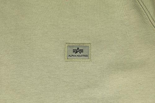 Alpha Industries Herren Sweatshirt Olive