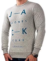 JACK & JONES Herren Hoodie jcoBOOSTY Sweatshirt Pullover Print Regular Fit