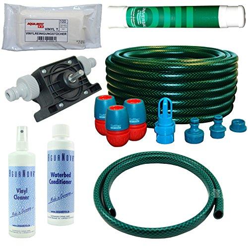 Wasserbetten Service Set Befüllset Entleerungsset Mono Pflegeprodukte Pumpe