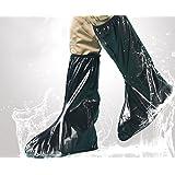 c0f23ae536d72 JOYOOO XXL lluvia botas cubre Impermeable y antideslizante Cubierta del zapato  para moto cicleta y bicicleta