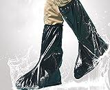 JOYOOO XXL lluvia botas cubre Impermeable y antideslizante Cubierta del zapato...