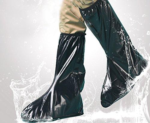 JOYOOO XXL lluvia botas cubre Impermeable y antideslizante Cubierta del zapato para moto cicleta y bicicleta