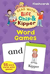 Oxford Reading Tree Read With Biff, Chip, and Kipper Flashcards: Word Games