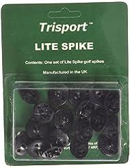 FootJoy FTS Lite Spikes - Tacos y clavos, color negro