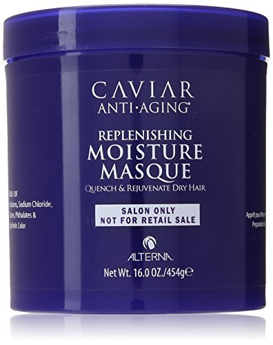 Alterna Caviar Anti-Aging Replenishing Moisture Masque for Unisex, 16 Ounce by Alterna