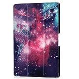 Lobwerk Hülle für Acer Iconia Tab 10 A3-A50 10.1 Zoll Schutzhülle Tablet Smart Cover mit Auto Sleep/Wake, Standfunktion und Touchpen