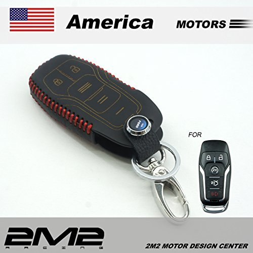 fo04-06-601-leather-key-fob-holder-case-chain-cover-for-mustang-focus-kuga-ecosport-mondeo-fiesta-ta
