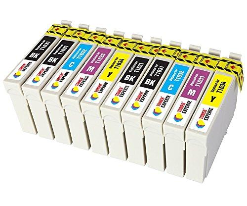TONER EXPERTE Sostituzione per Epson 16 16XL T1636 10 Cartucce d'inchiostro compatibili con Epson Workforce WF-2010W WF-2510WF WF-2520NF WF-2530WF WF-2630WF WF-2650DWFWF-2540WF | Alta Capacità