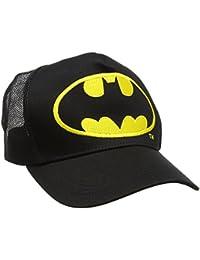 Batman Logo, Casquette de Baseball Mixte, Noir, Taille Unique