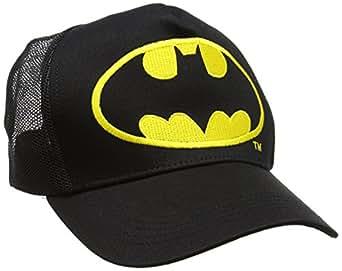 Batman Logo, Cappellino da Baseball Unisex-Adulto, Nero, Etichettalia Unica
