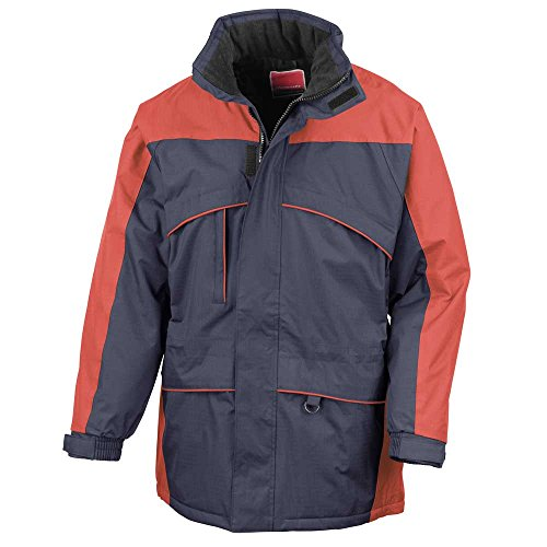 Result Herren Jacke Navy/Red