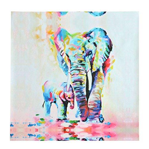 Wandgemälde,Pathonor 50cm*50cm Unframed Leinwanddrucke Modern Home Decor Wand Kunst Bild Aquarell...