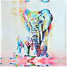 MOHOO Tableau d'impression Peinture Imprimée Toile éléphant Art Moderne Décor de Mur Salon Chambre