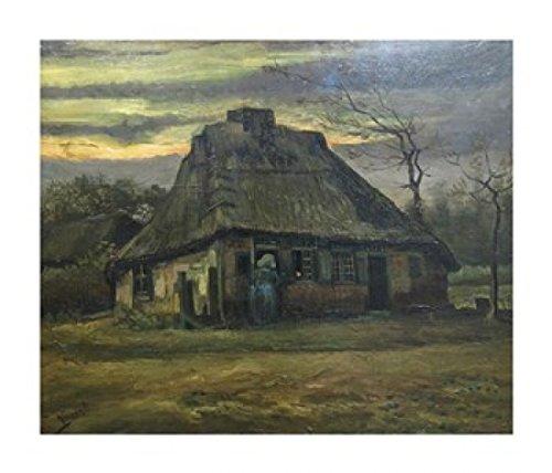 Vincent Van Gogh – The Cottage Kunstdruck (35,56 x 30,48 cm)