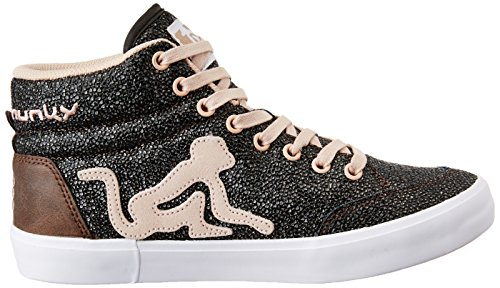 Drunkn Munky sneakers basse donna D-106-BOS GALAXIA 16AW ROSE 106 nuova collezione autunno inverno 2016 2017 Galaxia/Pink
