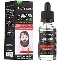 LanLan Barba Esencia para Hombres, Barba Crecer Esencia más rápida, Esencia Aceite
