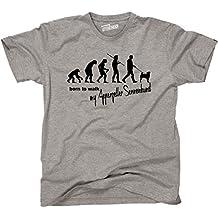 Siviwonder Unisex T-Shirt Evolution APPENZELLER SENNENHUND - Walk my... Hunde lustig fun