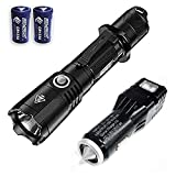 Combo: NITECORE MH25GTS 1800 Lumen Rechargeable Tactical Flashlight w/VCL10 Multi-Tool/USB Car Adapter +2x Free Eco-Sensa CR123A Batteries