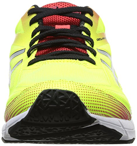 Asics  G401N 0490, Chaussures de course pour homme Multicolore - FL.YELL/BLK/Red