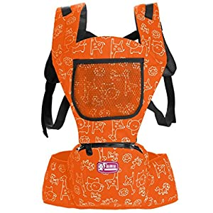 51Blbed7QLL. SS300  - EtocarsTM 2 in 1 Cotton Baby Carrier Backpack with Hood Cover and Detachable Pocket