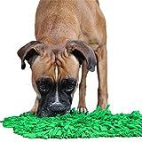 Bella & Balu Schnüffelteppich für Hunde – Der Schnüffelrasen dient als interaktives Suchspiel, fördert die natürliche Nahrungssuche und trainiert dabei die Geruchsempfindung Ihres Hundes (Grün)