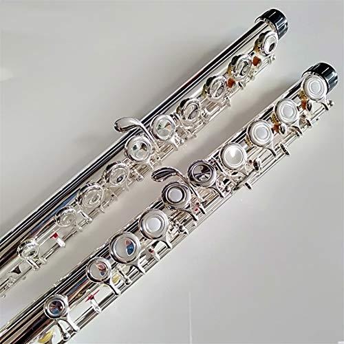 Heißer Japan Flöte YFL 471 16 Löcher Silber Überzogene Quer Flauta Obturator C Schlüssel Mit E Schlüssel Musikinstrument Dizi ( Color : Close YFL 471 )