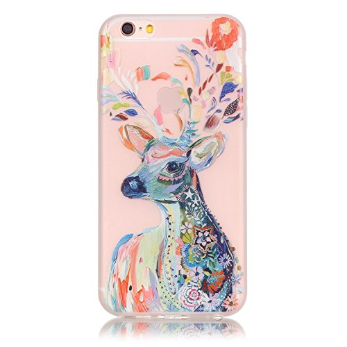 cuitan-noctilucent-glow-in-the-dark-soft-tpu-back-cover-for-iphone-6-6s-colorful-deer-pattern-design