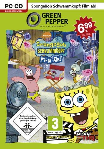 SpongeBob Schwammkopf - Film ab! [Green Pepper] (Spongebob Film Pc)