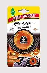Idea Regalo - Arbre Magique Belair Sensation, Deodorante Gel per Auto, Fragranza Aloha, Effetto Lunga Durata, Intensità Regolabile, Design Made in Italy