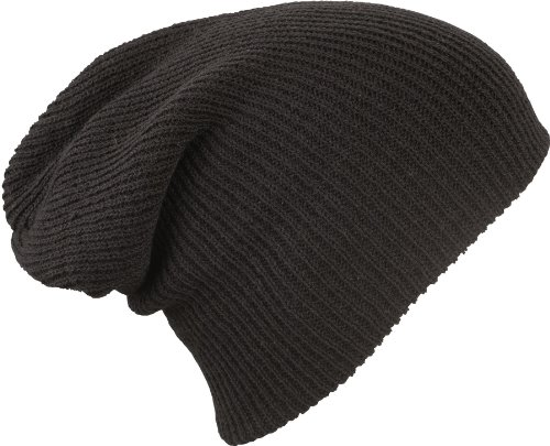 MB CAPS - Bonnet - Homme Noir Very Black