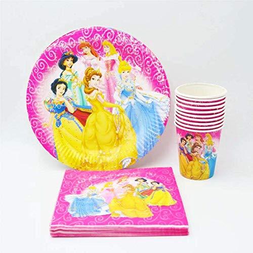 Tasse/Teller / Serviette Prinzessin Party Supplies Für Kinder Event Geburtstag Party Dekorationen Geburtstag Party Favors Set ()
