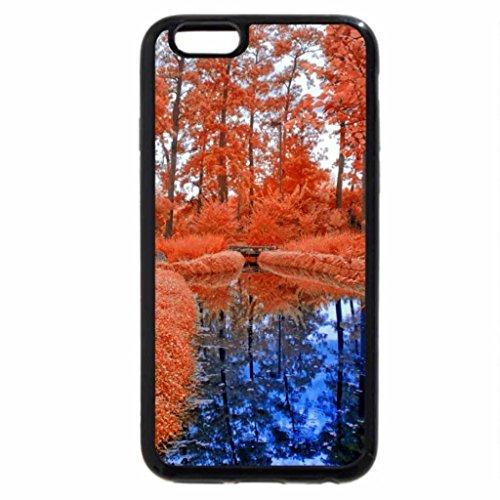 iPhone 3S/iPhone 6Coque (Noir) un Creek Bleu